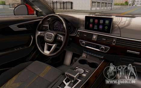 Audi A4 2017 IVF für GTA San Andreas Seitenansicht