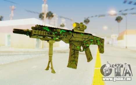 ACR CQB Magma Green pour GTA San Andreas deuxième écran