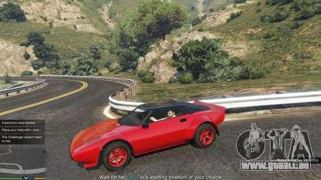 Impromptu Races 1.8 pour GTA 5