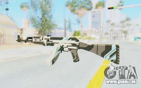 CS:GO - AK-47 Vulcan pour GTA San Andreas deuxième écran