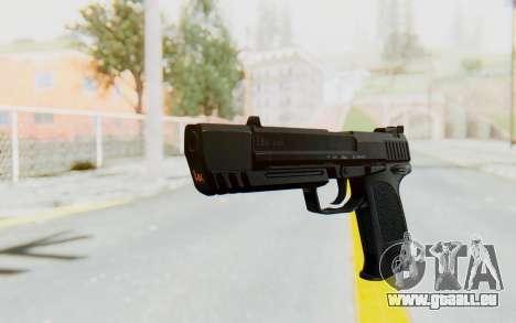 HK USP 45 Black pour GTA San Andreas deuxième écran