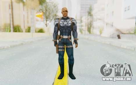 Marvel Future Fight - Nick Fury pour GTA San Andreas deuxième écran