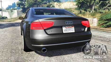 Audi A8 FSI 2010 für GTA 5