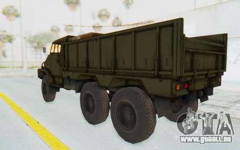 MGSV Phantom Pain BOAR 53CT Truck pour GTA San Andreas vue de droite