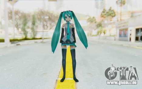 Project Diva F2 - Hatsune Miku (Music Girl) pour GTA San Andreas deuxième écran