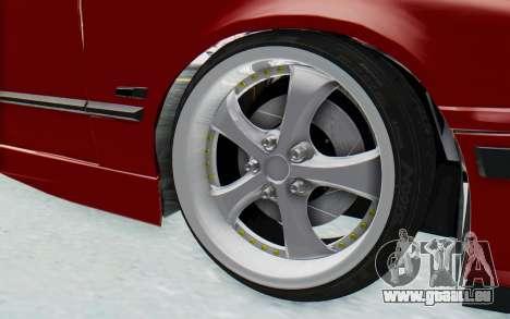BMW M3 E36 2.5 TDS für GTA San Andreas Innenansicht