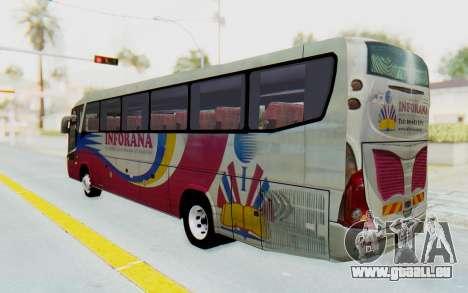 Marcopolo Inforana Bus pour GTA San Andreas laissé vue
