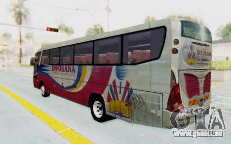 Marcopolo Inforana Bus für GTA San Andreas linke Ansicht