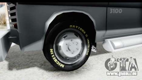GMC 3100 Diesel pour GTA San Andreas vue arrière