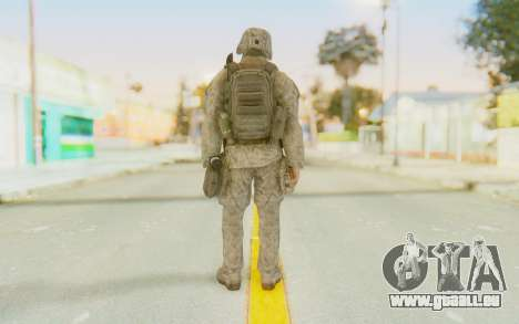 CoD MW2 Ghost Model v3 für GTA San Andreas dritten Screenshot