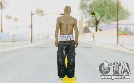 Mexican Skin pour GTA San Andreas troisième écran