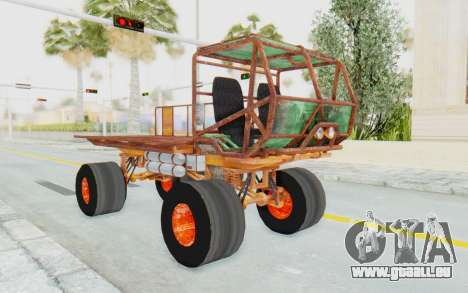 Mongo from Fast and Furious pour GTA San Andreas vue de droite