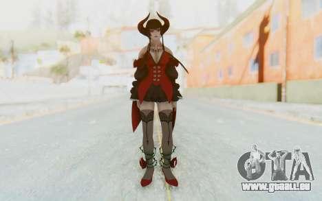 Eliza Skin pour GTA San Andreas deuxième écran