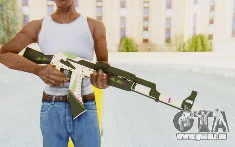 CS:GO - AK-47 Sport für GTA San Andreas dritten Screenshot