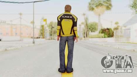 Dead Rising 3 Chuck Greene on DR2 Outfit für GTA San Andreas dritten Screenshot