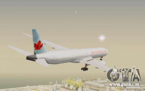 Boeing 777-300ER Air Canada pour GTA San Andreas vue de droite