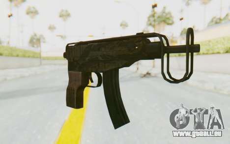 VZ-61 Skorpion Fold Stock Tiger Stripes Camo für GTA San Andreas