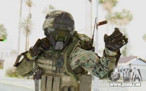 CoD AW US Marine Assault v1 Head A für GTA San Andreas