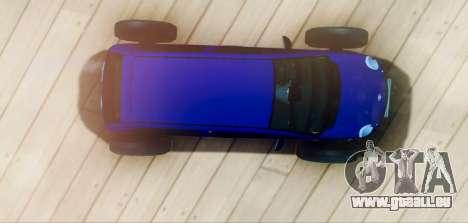 Daewoo Matiz R20 Vossen für GTA San Andreas rechten Ansicht