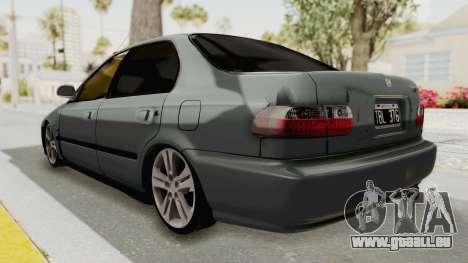 Honda Civic SI Sedan 1992 für GTA San Andreas linke Ansicht