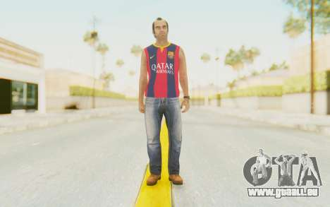 Trevor Barcelona pour GTA San Andreas deuxième écran