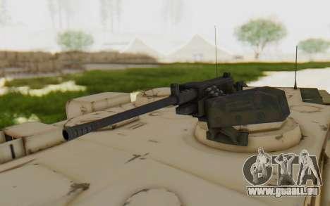 MGSV Phantom Pain M84A MAGLOADER für GTA San Andreas Rückansicht