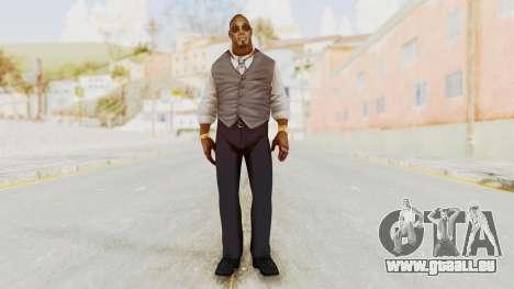 Dead Rising 2 Off The Record TK Coat Less pour GTA San Andreas deuxième écran
