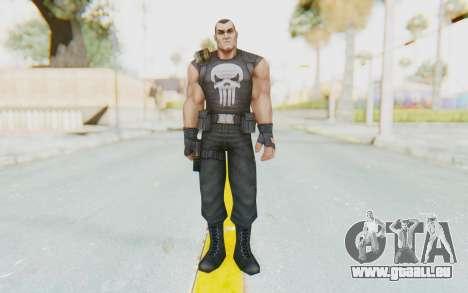 Marvel Future Fight - Punisher pour GTA San Andreas deuxième écran