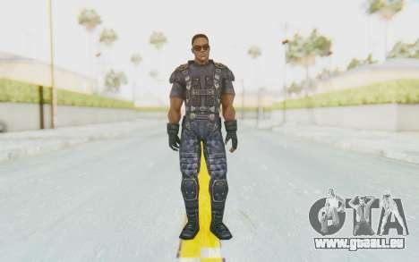 Marvel Future Fight - Falcon pour GTA San Andreas deuxième écran