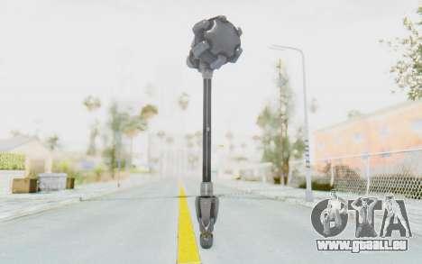 Reinhardt Hammer pour GTA San Andreas deuxième écran