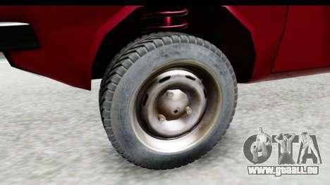Dacia 1310 TLX v2 für GTA San Andreas Rückansicht