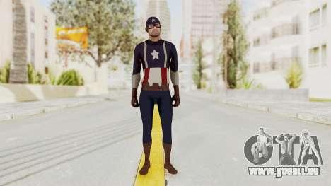 Trevor in Captain America Suit für GTA San Andreas zweiten Screenshot