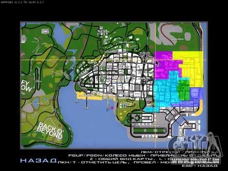 Anzeigen für SAMP für GTA San Andreas