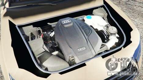 GTA 5 Audi A4 2017 hinten rechts