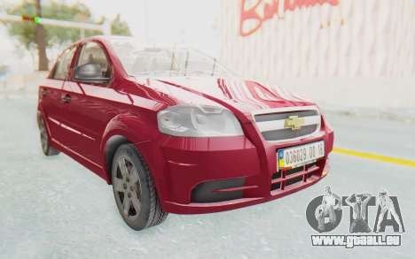 Chevrolet Aveo 2007 für GTA San Andreas
