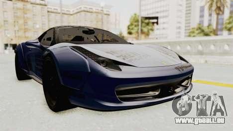 Ferrari 458 VPM Crew für GTA San Andreas