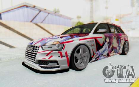 Audi S4 Avant Yurippe Angel Beats Itasha pour GTA San Andreas