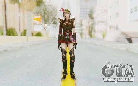 Dynasty Warriors 8 - Lu Lingqi v1 pour GTA San Andreas deuxième écran