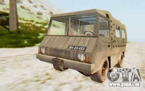 Pinzgauer 710M pour GTA San Andreas vue de droite