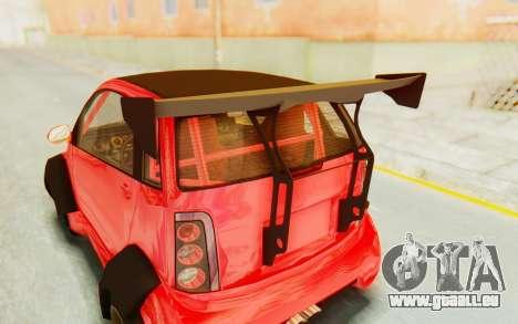 GTA 5 Benefactor Panto Custom für GTA San Andreas Rückansicht