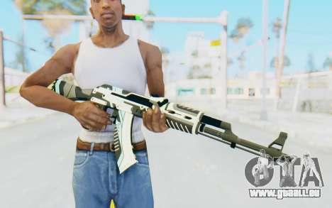 CS:GO - AK-47 Vulcan pour GTA San Andreas troisième écran