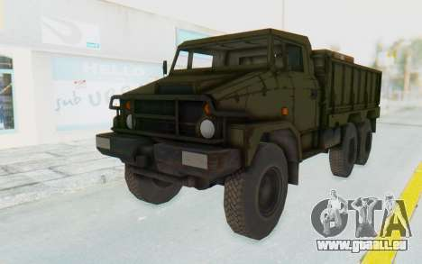MGSV Phantom Pain BOAR 53CT Truck pour GTA San Andreas