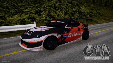 Nissan 350Z G-Drive Edition für GTA San Andreas