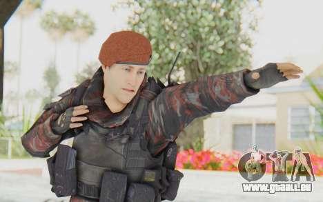 COD MW2 Russian Paratrooper v4 pour GTA San Andreas