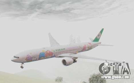 Boeing 777-300ER Eva Air v2 für GTA San Andreas