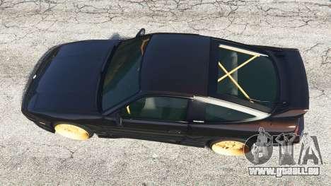 GTA 5 Nissan 180SX Type-X v0.5 vue arrière