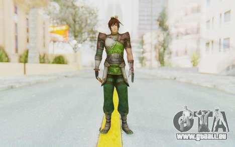 Dynasty Warriors 8 - Guan Su pour GTA San Andreas deuxième écran