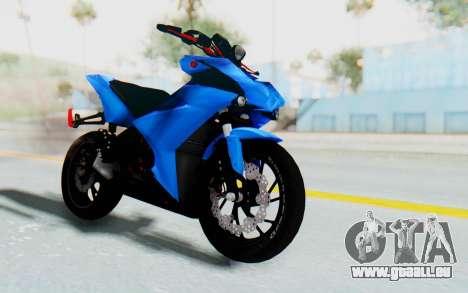 Yamaha Mx King 1000CC pour GTA San Andreas vue de droite