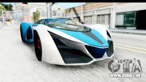 GTA 5 Grotti X80 Proto IVF pour GTA San Andreas