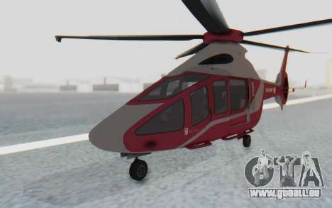 GTA 5 Buckingham Volatus v2 IVF für GTA San Andreas